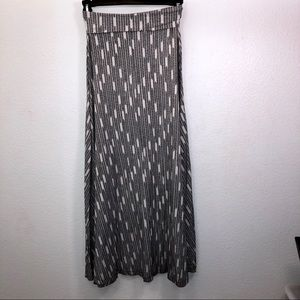 Victoria's Secret Arrow Print Maxi Skirt
